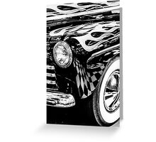 1946 Ford Deluxe Greeting Card