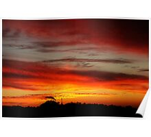 Belair Sunset Poster