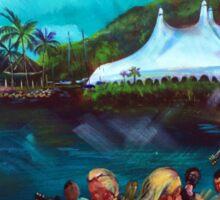 Airlie Beach Music Festival - beach Jam Sticker