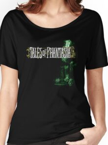 Tales of Phantasia (SNES) Title Screen Women's Relaxed Fit T-Shirt