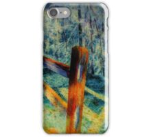 Fence To Nowhere iPhone Case/Skin