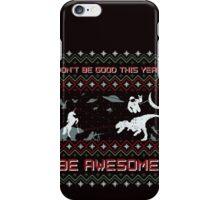 EPIC CHRISTMAS SWEATER YEAH!!! iPhone Case/Skin