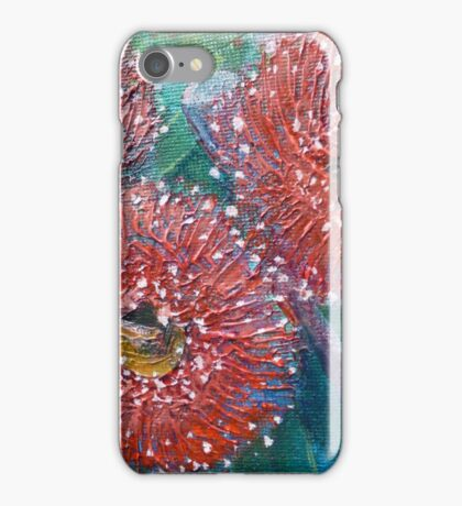 Red Flowering Gum iPhone Case/Skin