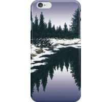 Upper Truckee River Sunset iPhone Case/Skin