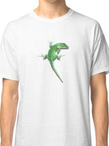 Climbing lizard. Classic T-Shirt