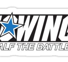 Knowing is Half the Battle Sticker