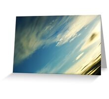 Earth View Greeting Card