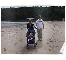 Beach days Poster