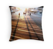 Shadow people Throw Pillow