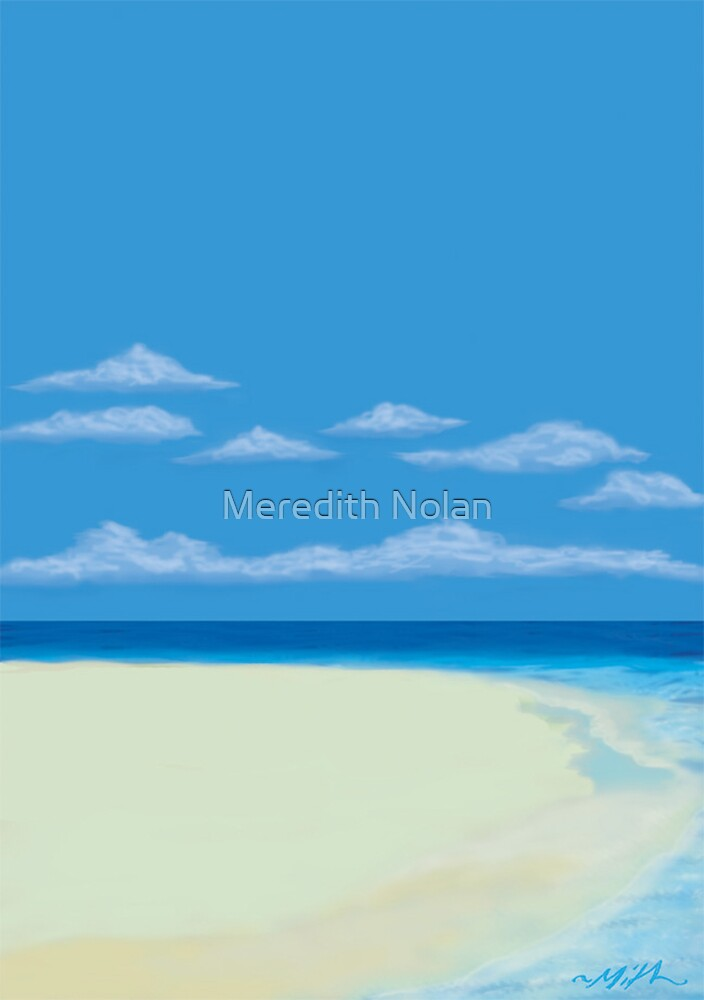 Beach by Meredith Nolan