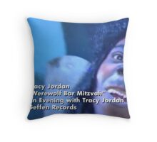 Werewolf Bar Mitzvah Throw Pillow