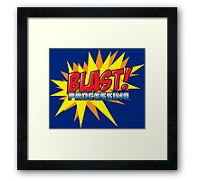 Blast Processing Framed Print