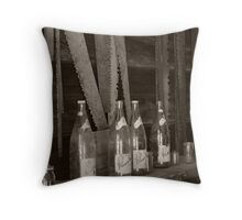 Blades & Bottles 2 Throw Pillow