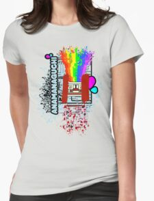 anamanaguchi Womens Fitted T-Shirt