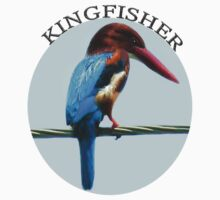 <º))))><KINGFISHER TEE SHIRT<º))))><      by ✿✿ Bonita ✿✿ ђєℓℓσ