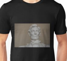 Lincoln statue Unisex T-Shirt