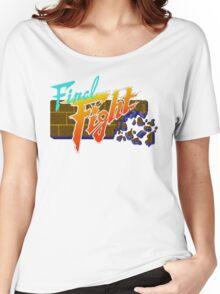 Final Fight (SNES) Title Screen Women's Relaxed Fit T-Shirt