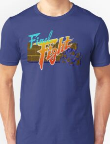 Final Fight (SNES) Title Screen T-Shirt