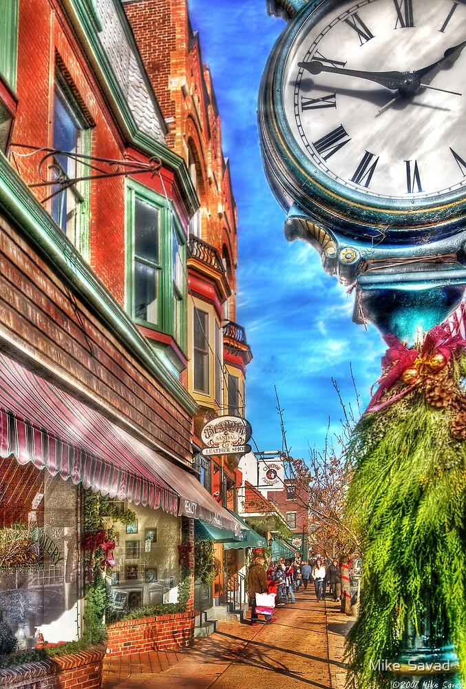 Main Street, Clinton, NJ by Mike  Savad