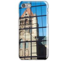 reflected building iPhone Case/Skin