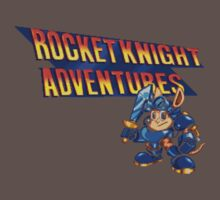 Rocket knight Adventures (Snes) Title Screen Baby Tee
