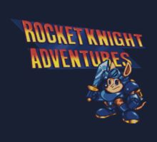 Rocket knight Adventures (Snes) Title Screen One Piece - Long Sleeve