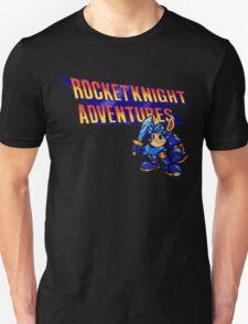 Rocket knight Adventures (Snes) Title Screen Unisex T-Shirt