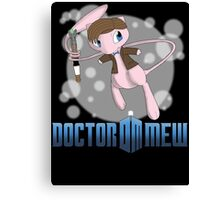 Doctor Mew Canvas Print