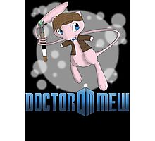 Doctor Mew Photographic Print