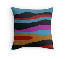 MIDNIGHT abstract LANDSCAPE pillows, cups, handbags.... Throw Pillow