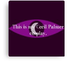 Cecil Palmer cosplay Canvas Print