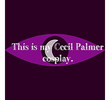 Cecil Palmer cosplay Photographic Print