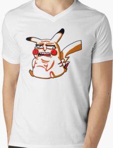 Pikacheeew ALT Mens V-Neck T-Shirt