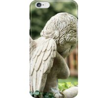 Angel in the Ivy iPhone Case/Skin