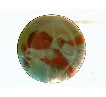 Precious Baby Plate Photographic Print