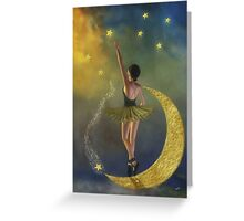Reaching for the Stars * Ballerina * Fantasy * Wall Art Greeting Card