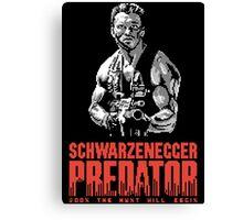 NES Predator: Arnie Edition Canvas Print