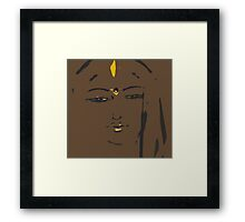 the signature Framed Print
