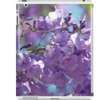 Spring Jacaranda Blossoms iPad Case/Skin