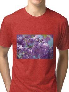 Spring Jacaranda Blossoms Tri-blend T-Shirt