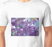 Spring Jacaranda Blossoms Unisex T-Shirt