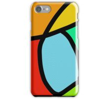 BOLD COLORFUL ABSTRACT ART iPhone Case/Skin