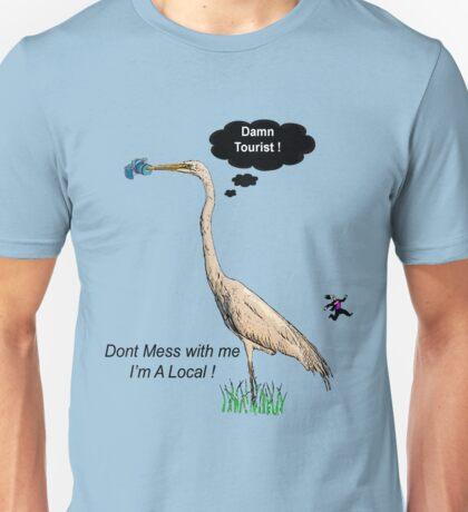 Damn Tourist ! Unisex T-Shirt