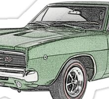 1968 Dodge Charger Sticker