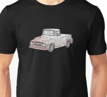 1956 Ford F100 Pickup Unisex T-Shirt