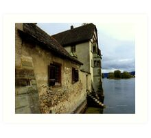 Kloster on the Water Art Print