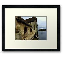 Kloster on the Water Framed Print