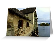 Kloster on the Water Greeting Card