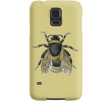 antique typographic vintage honey bee Samsung Galaxy Case/Skin