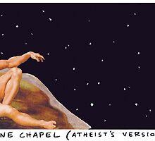 Sistine Chapel - Atheist's Version by Andrew  Weldon